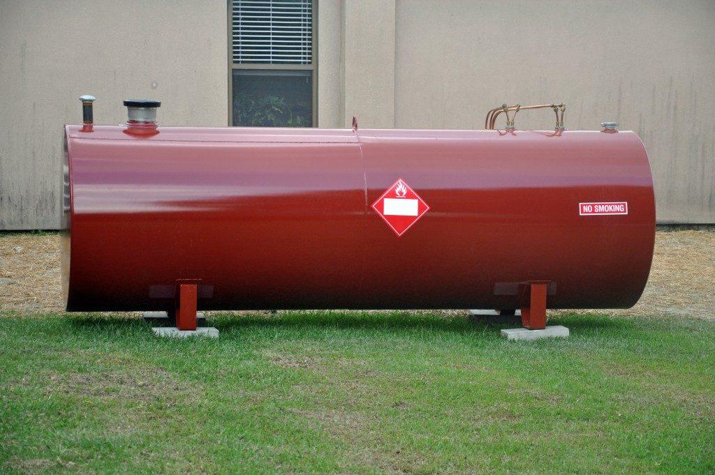 Fuel tank storage