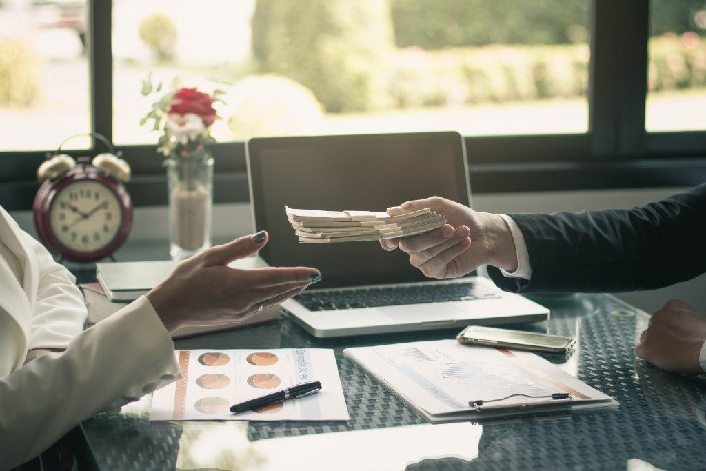Recieving monetary incentive