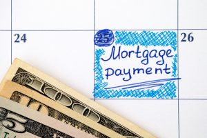 due date of mortgage payment on calendar