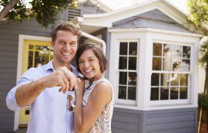 couple bought a house