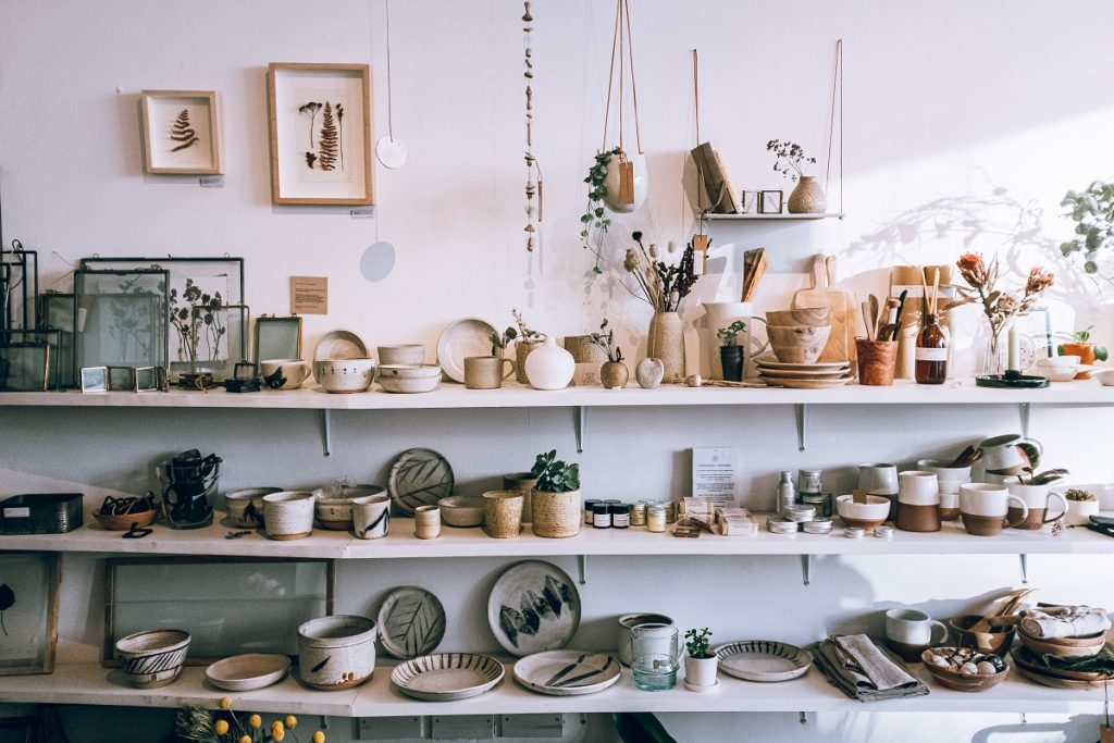 collection of ceramic kitchenware