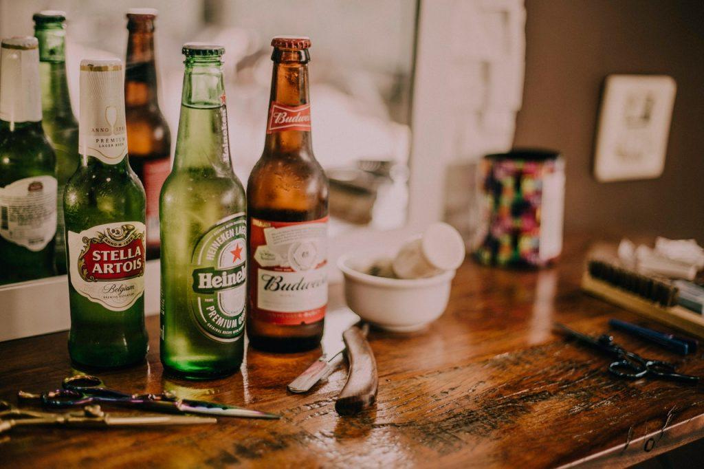 different brands of beer